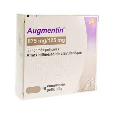 AUGMENTIN 875 MG COMP 10X875MG