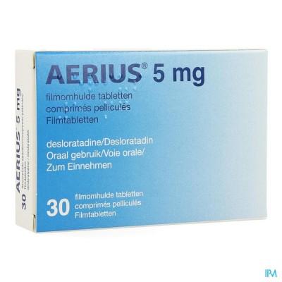 Aerius 5mg Pi Pharma Filmomh Tabl 30 X 5mg Pip