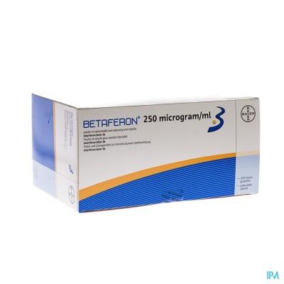 Betaferon 250 Mcg/ml 15x1 Fl Pdr Inj+solv Sp Voorg