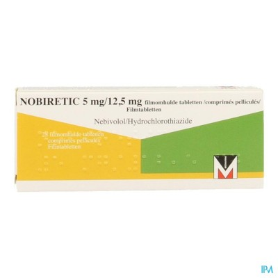 Nobiretic 5mg/12,5mg Comp 28
