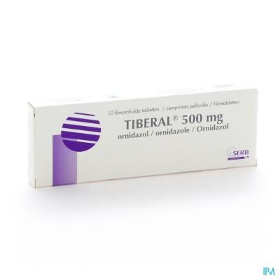Tiberal Comp 10 X 500mg