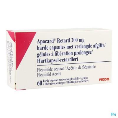 Apocard Retard Caps 60 X 200mg
