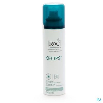 ROC KEOPS DEO DROGE SPR Z/ALC Z/PARF NH 150ML