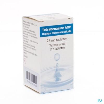 Tetrabenazine Comp 112 X 25mg Aop Orphan Pharmac.