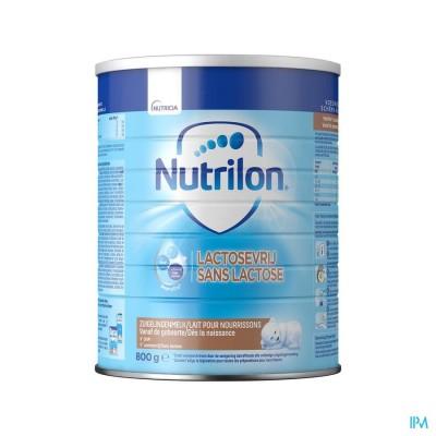 Nutrilon Lactosevrij Opvolgmelk vanaf de geboorte poeder 800g