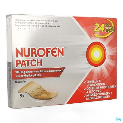 Nurofen Patch 200mg Pleister 8