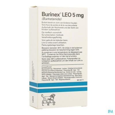 Burinex Comp 20 X 5mg