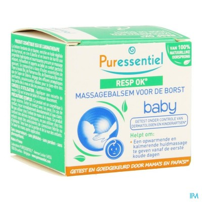 PURESSENTIEL ADEMHALING MASSAGEBALSEM BABY 30ML