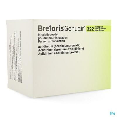 Bretaris Genuair 322mcg Inhal Poeder 3x60 Dosis