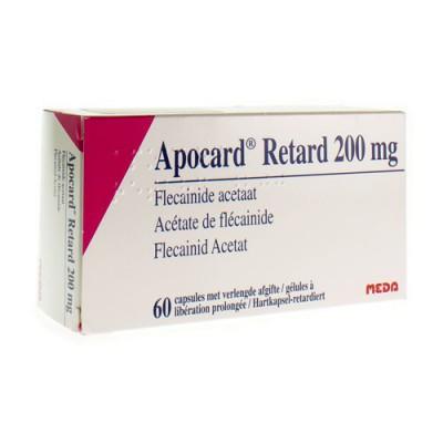 APOCARD RETARD CAPS 60 X 200 MG