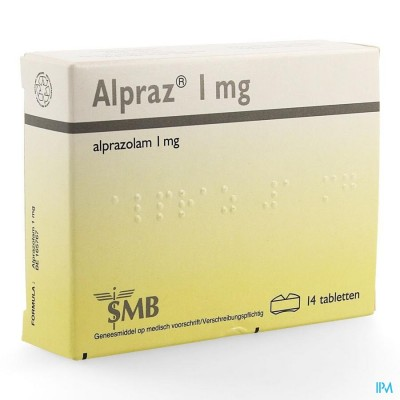 ALPRAZ COMP 14X1,0MG