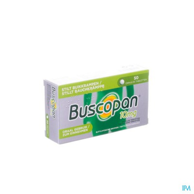 BUSCOPAN DRAG 50 X 10 MG