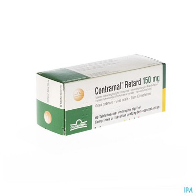 Contramal Retard 150mg Comp 60
