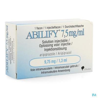 ABILIFY 7,5MG/ML INJ.OPL FL 1 9,75 MG(1,3 ML)