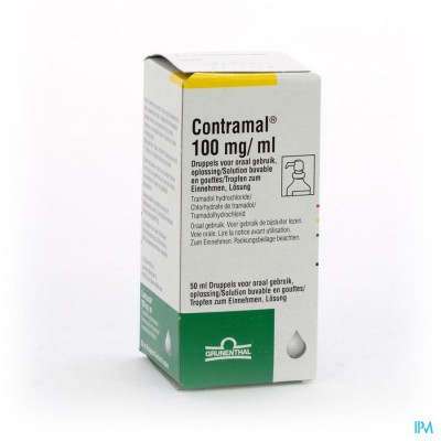 Contramal 1flx50ml/100mg/ml Pomp Dos