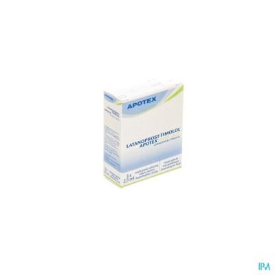 Latanoprost Timolol Apotex 50mcg 3cont Pipet 2,5ml