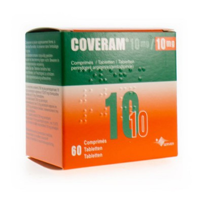 COVERAM 10MG/10MG IMPEXECO COMP 60 PIP