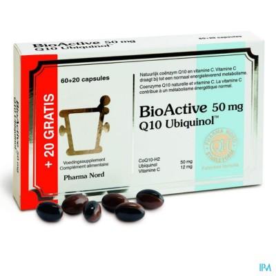 BIO ACTIVE Q10 50MG CAPS 60+20