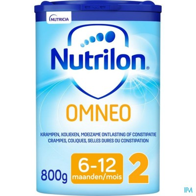 Nutrilon Omneo 2 Opvolgmelk constipatie en krampen vanaf 6 maanden poeder 800g