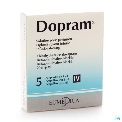 DOPRAM AMP IV 5 20MG/ML 5ML