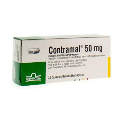 CONTRAMAL CAPS 30X50MG