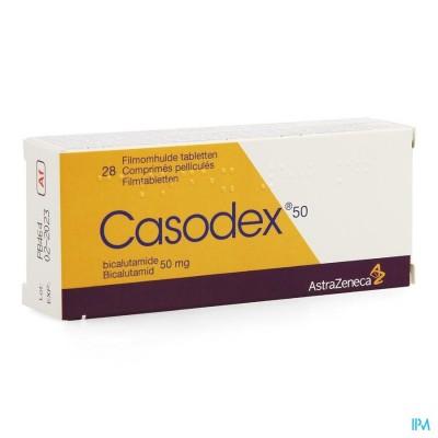 CASODEX PI PHARMA TABL 28X 50MG PIP