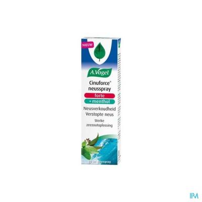 A.Vogel Cinuforce Neusspray Forte + Menthol 20ml