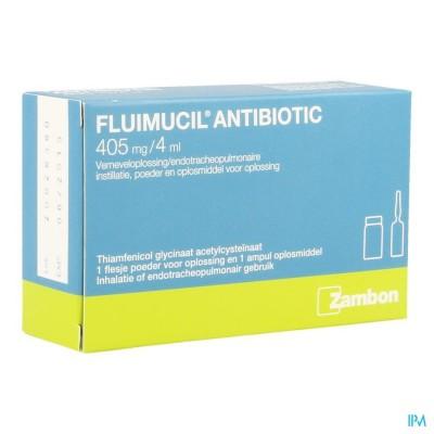 Fluimucil Antibiotic Fl1+amp 1topic