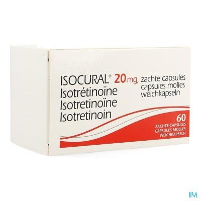 Isocural 20mg Pierre Fabre Dermato Caps 60 X 20mg