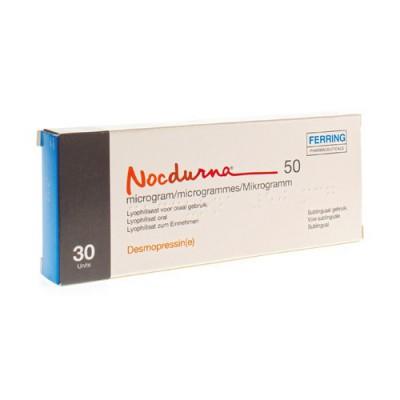 NOCDURNA 50MCG LYOPHILISAAT ORAAL GEBRUIK 30 X 1