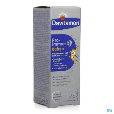 Davitamon Pro-immun D Baby 7,5ml