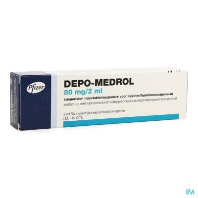 Depo-medrol Ser Inj 1 X 80mg/2ml