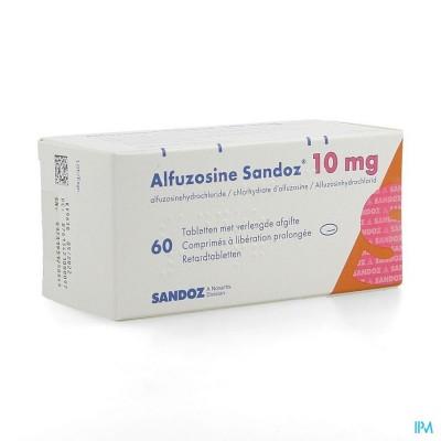 Alfuzosine Sandoz Comp 60 X 10mg