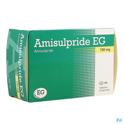 AMISULPRIDE EG 100 MG TABL 150