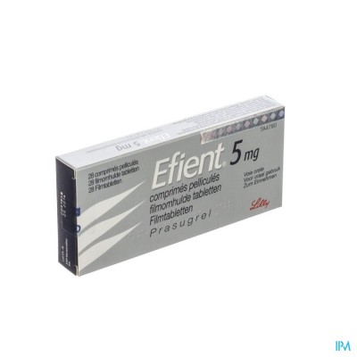 EFIENT COMP PELL 28 X 5 MG