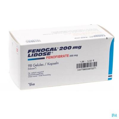Fenogal Lidose Caps 98 X 200mg