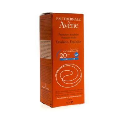 AVENE ZON EMULSIE IP20 Z/PARABEEN 50ML