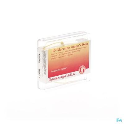 Glycerine Kela Pharma Baby - Inf Supp 10