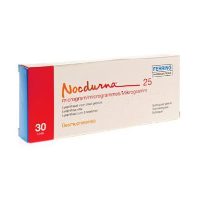 NOCDURNA 25MCG LYOPHILISAAT ORAAL GEBRUIK 30 X 1