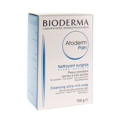 BIODERMA ATODERM OVERVETTE ZEEP DROGE HUID 150G