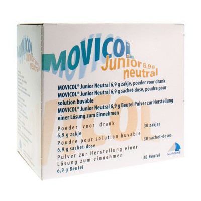 MOVICOL JUNIOR NEUTRAL ZAKJES 30 X 6,9 G