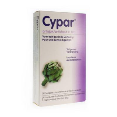 CYPAR ARTISJOK CAPS 30 X 320MG