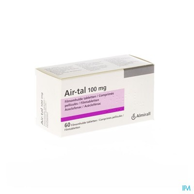AIR-TAL ANTI INFLAMMATOIRE COMP 60X100MG