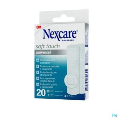 Nexcare 3m Soft Touch Universal Assort. Strips 20