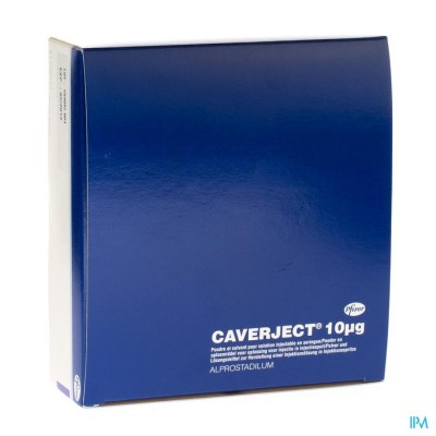 Caverject Pulv Lyoph 5x10ug Ser Inj