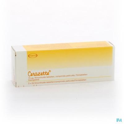 Cerazette Strips 3 X 28 Tabl