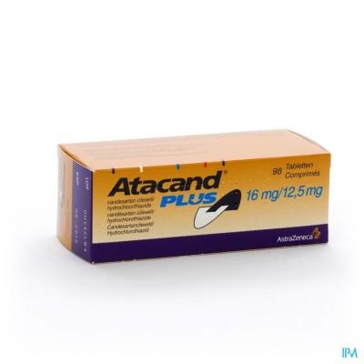 ATACAND PLUS COMP S/BL 98X16/12,5MG
