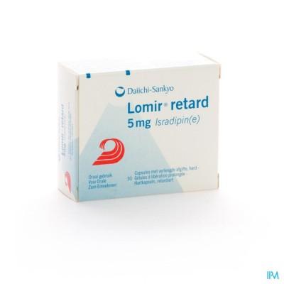 Lomir Retard Caps 30 X 5mg
