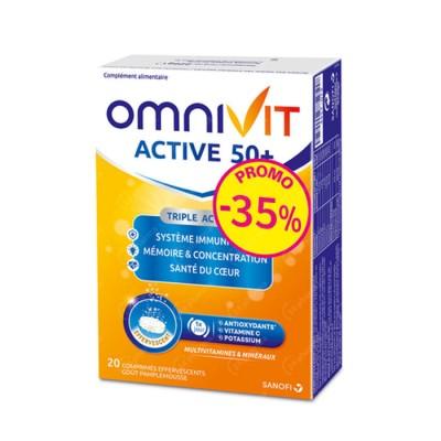 Omnivit Active Bruistabl 50+20 Promo -35%
