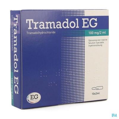 Tramadol Eg Amp 10 X 2ml 100mg/2ml